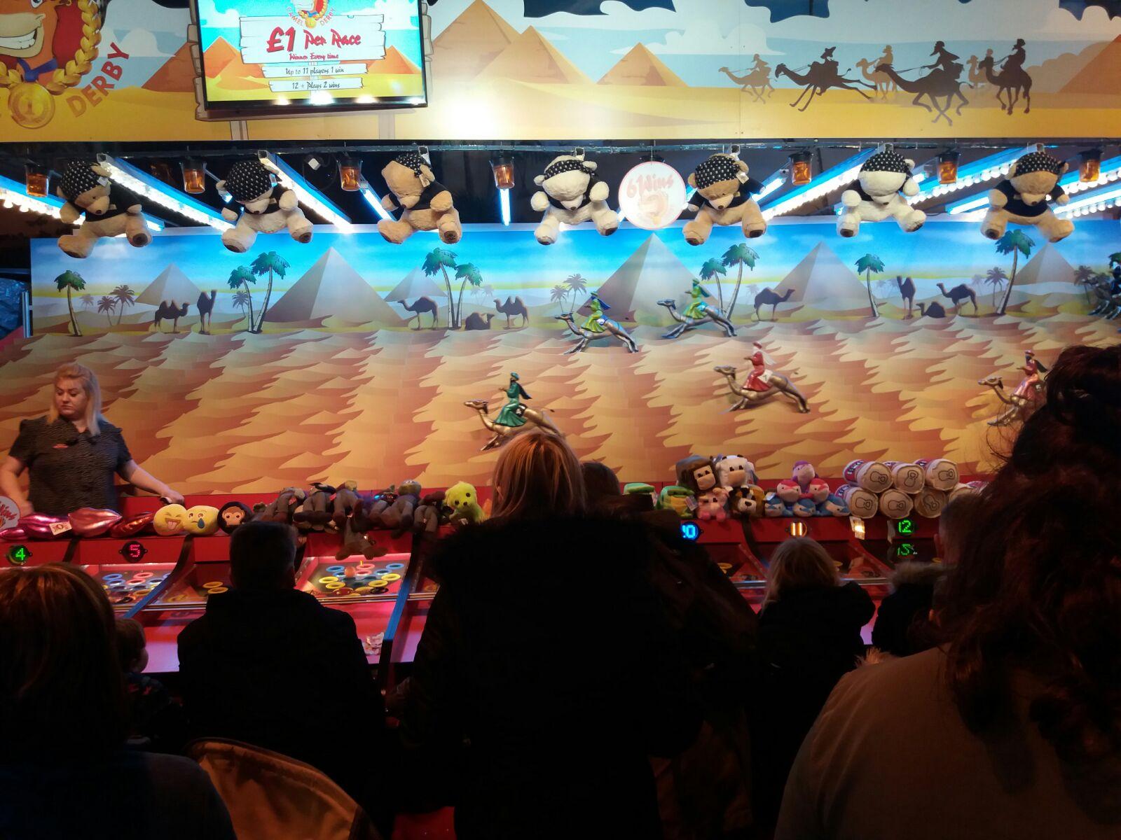 Coral Island Camel Race